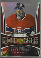Carey Price [Noted] #/999