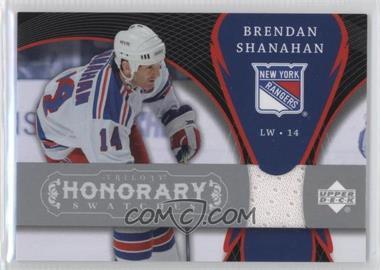 2007-08 Upper Deck Trilogy - Honorary Swatches #HS-SH - Brendan Shanahan