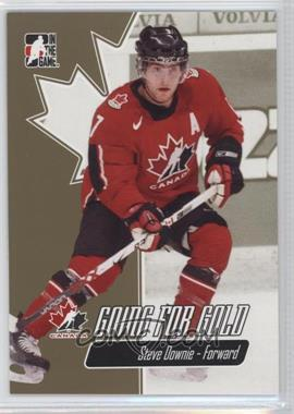 2007 In the Game Going for Gold World Junior Championships - [Base] #10 - Steve Downie