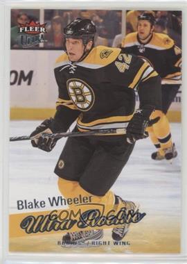 2008-09 Fleer Ultra - [Base] #254 - Blake Wheeler