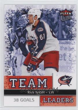 2008-09 Fleer Ultra - Team Leaders #TL 12 - Rick Nash