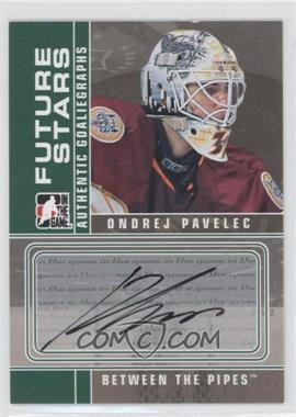 2008-09 In the Game Between the Pipes - Autographs #A-OP - Ondrej Pavelec