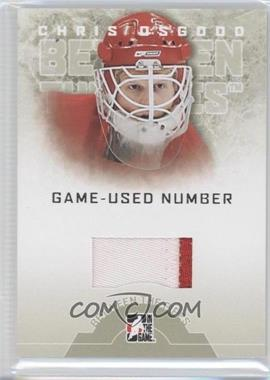 2008-09 In the Game Between the Pipes - Game-Used Number #GUN-26 - Chris Osgood