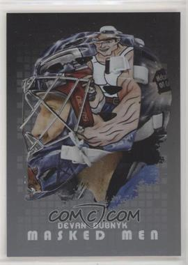 2008-09 In the Game Between the Pipes - Masked Men - Silver #MM-32 - Devan Dubnyk
