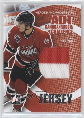 2008-09 In the Game Heroes and Prospects - ADT Canada/Russia Challenge Relics - Silver #CRJ-05 - Luke Schenn /29