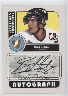 2008-09 In the Game Heroes and Prospects - Autographs #A-RG - Ryan Getzlaf