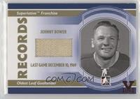 Johnny Bower #/1
