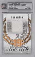 Joe Thornton [Uncirculated] #/19