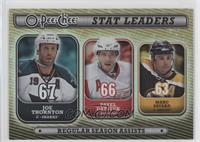 Pavel Datsyuk, Marc Savard, Joe Thornton