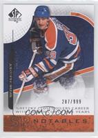 SP Notables - Wayne Gretzky #/999