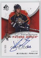 Autographed Future Watch - Michael Frolik #/999