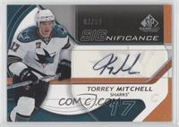Torrey Mitchell #/50
