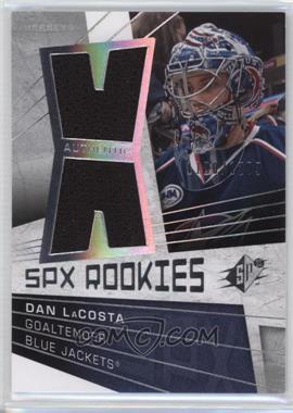 2008-09 SPx - [Base] #143 - Rookies Jerseys - Dan LaCosta /1299