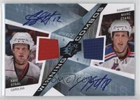 Eric Staal, Marc Staal #/25