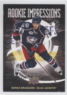 2008-09 Upper Deck - Rookie Impressions #RI5 - Derick Brassard