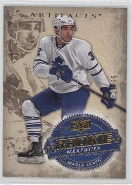2008-09 Upper Deck Artifacts - [Base] - Gold #245 - Alex Foster /75