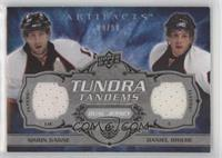 Simon Gagne, Daniel Briere [EX to NM] #/50