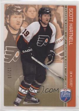 2008-09 Upper Deck Be a Player - [Base] - Player's Club #131 - Scott Hartnell /15