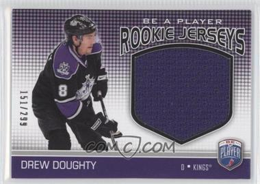 2008-09 Upper Deck Be a Player - Rookie Jerseys #RJ-DD - Drew Doughty /299