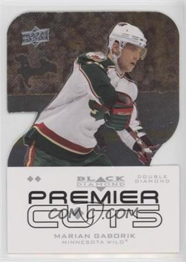 2008-09 Upper Deck Black Diamond - Premier Die-Cuts #PDC33 - Marian Gaborik