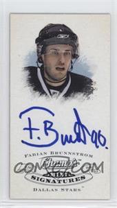2008-09 Upper Deck Champ's - Mini Signatures #CS-FB - Fabian Brunnstrom