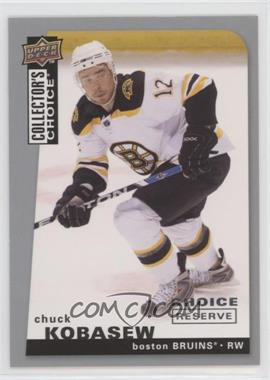2008-09 Upper Deck Collector's Choice - [Base] - Choice Reserve Silver #61 - Chuck Kobasew