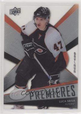 2008-09 Upper Deck Ice - [Base] #156 - Luca Sbisa /499