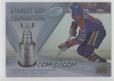 2008-09 Upper Deck Ice - Stanley Cup Foundations #SCF-WG - Wayne Gretzky