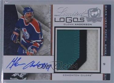 2008-09 Upper Deck The Cup - Limited Logos #LL-GA - Glenn Anderson /50