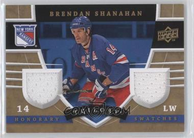 2008-09 Upper Deck Trilogy - Honorary Swatches #HS-BS - Brendan Shanahan