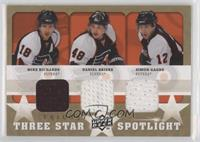 Simon Gagne, Mike Richards, Daniel Briere