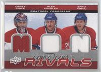 Carey Price, Alex Kovalev, Tim Thomas, Saku Koivu, Phil Kessel, Michael Ryder
