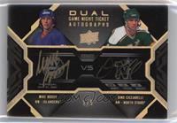 Mike Bossy, Dino Ciccarelli [Noted] #/5