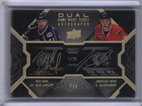 Rick Nash, Jonathan Toews #/5