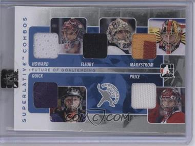2009-10 In the Game Superlative Volume 2 - 2010 Spring Expo Combo Redemption - Silver #SC-94 - Jimmy Howard, Jacob Markstrom, Jonathan Quick, Carey Price, Manchester Monarchs /9 [Uncirculated]