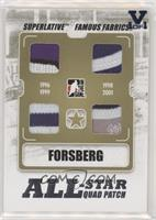 Peter Forsberg [EX to NM] #/1