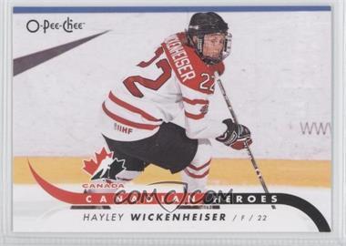 2009-10 O-Pee-Chee - Canadian Heroes #CB-HW - Hayley Wickenheiser