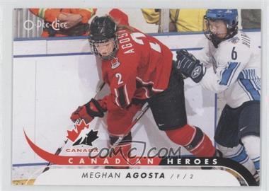 2009-10 O-Pee-Chee - Canadian Heroes #CB-MA - Meghan Agosta