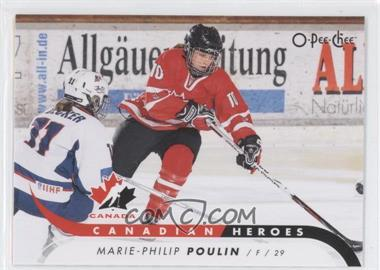2009-10 O-Pee-Chee - Canadian Heroes #CB-MP - Marie-Philip Poulin