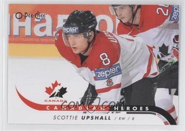 2009-10 O-Pee-Chee - Canadian Heroes #CB-SU - Scottie Upshall
