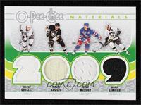 Wayne Gretzky, Sidney Crosby, Mark Messier, Mario Lemieux
