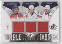 Alexander Ovechkin, Nicklas Backstrom, Mike Green #/25