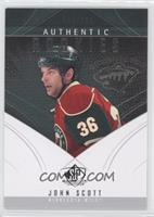 Authentic Rookies - John Scott #/699