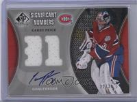 Carey Price #/31
