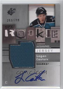 2009-10 SPx - [Base] #169 - Logan Couture /799