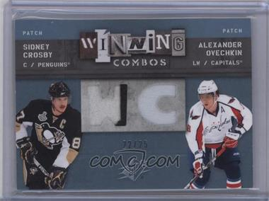 2009-10 SPx - Winning Combos - Patch #WC-CO - Sidney Crosby, Alex Ovechkin /25