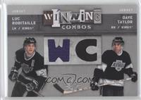 Luc Robitaille, Dave Taylor