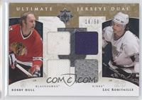 Bobby Hughes, Luc Robitaille, Bobby Hull /50