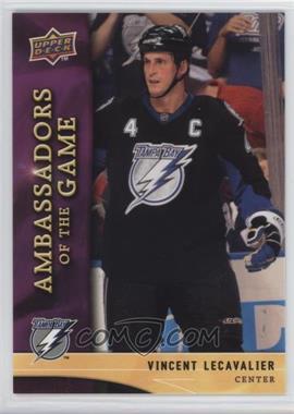 2009-10 Upper Deck - Ambassadors of the Game #AG13 - Vincent Lecavalier