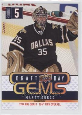 2009-10 Upper Deck - Draft Day Gems #GEM10 - Marty Turco